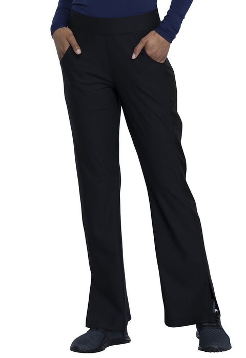 Cherokee Form by Cherokee Women's Mid Rise Moderate Flare Leg Pull-on Pant - CK091T  Tall - ScrubHaven