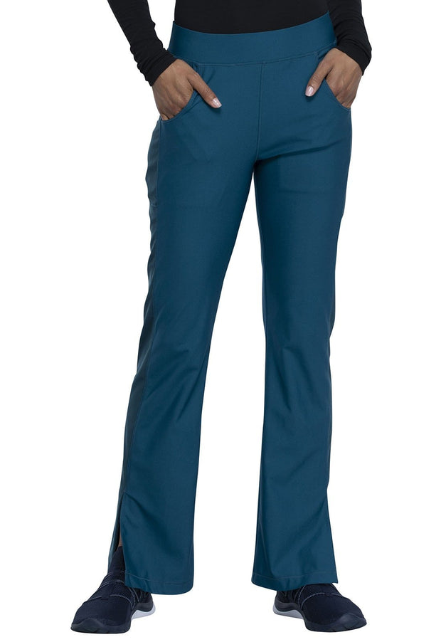 Cherokee Form by Cherokee Women's Mid Rise Moderate Flare Leg Pull-on Pant - CK091 - ScrubHaven