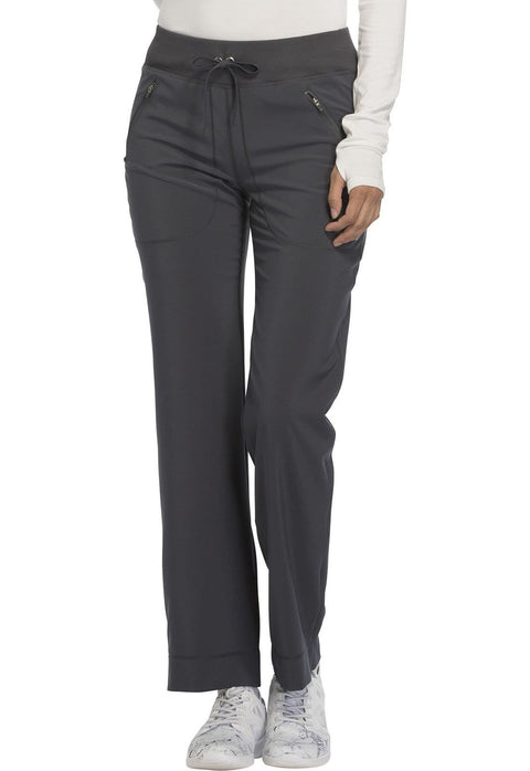 Cherokee Infinity Women's Mid Rise Tapered Leg Drawstring Pants - CK100AT  Tall - ScrubHaven