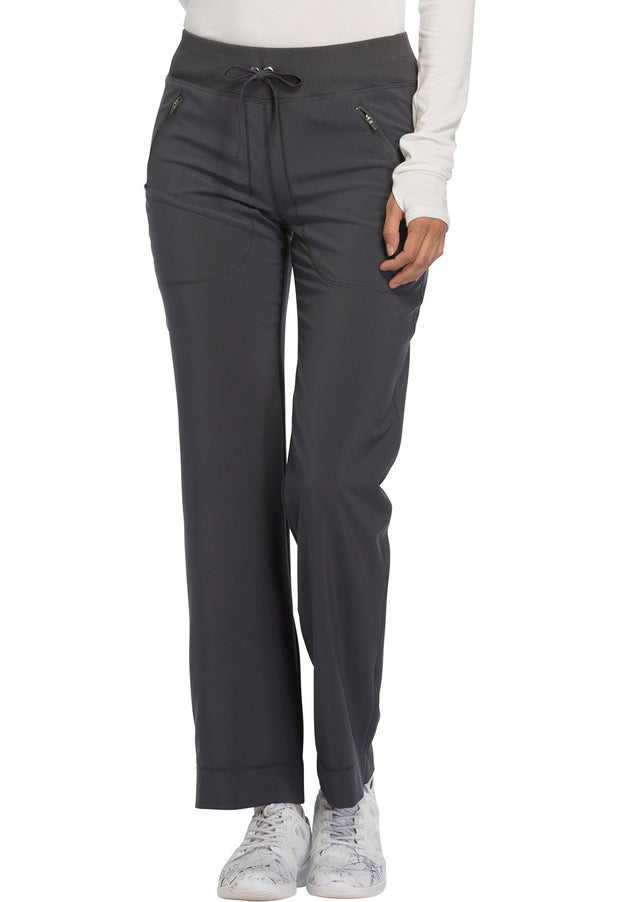 Cherokee Infinity Women's Mid Rise Tapered Leg Drawstring Pants - CK100A