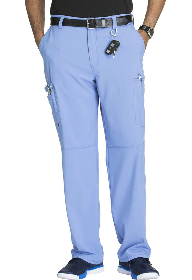 Cherokee Infinity Men Men's Men's Fly Front Pant - CK200AT  Tall - ScrubHaven