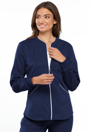 Zip Front Warm-up Jacket