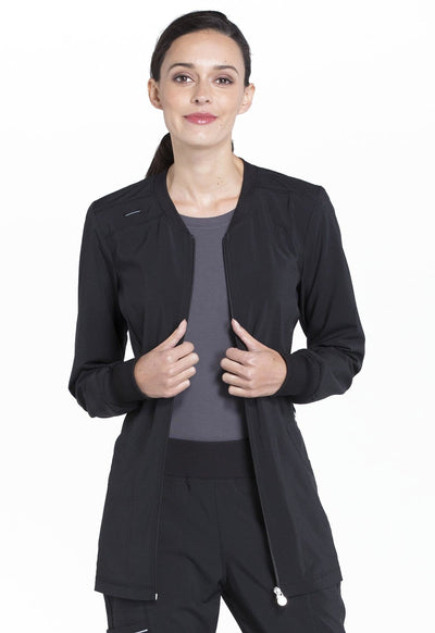 CK370A Zip Front Warm-Up Jacket