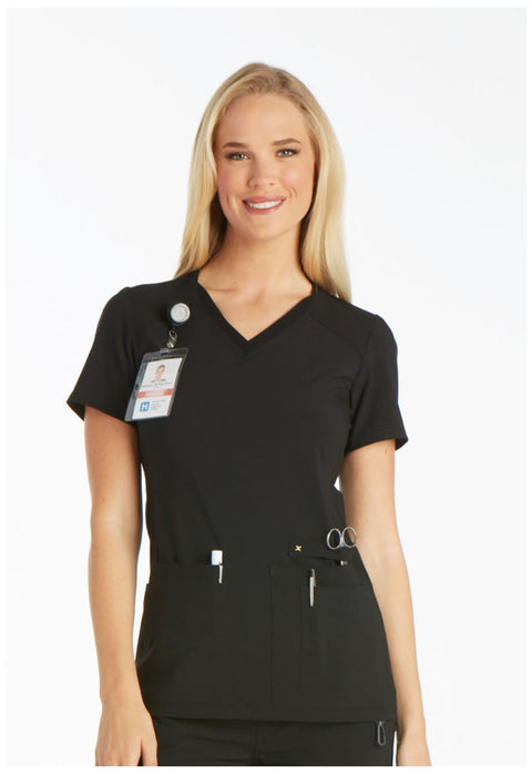 Cherokee Iflex Scrub Top | Women's V-Neck Top - CK605