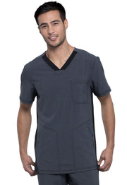 Cherokee Infinity Men's V-Neck Top - CK639A