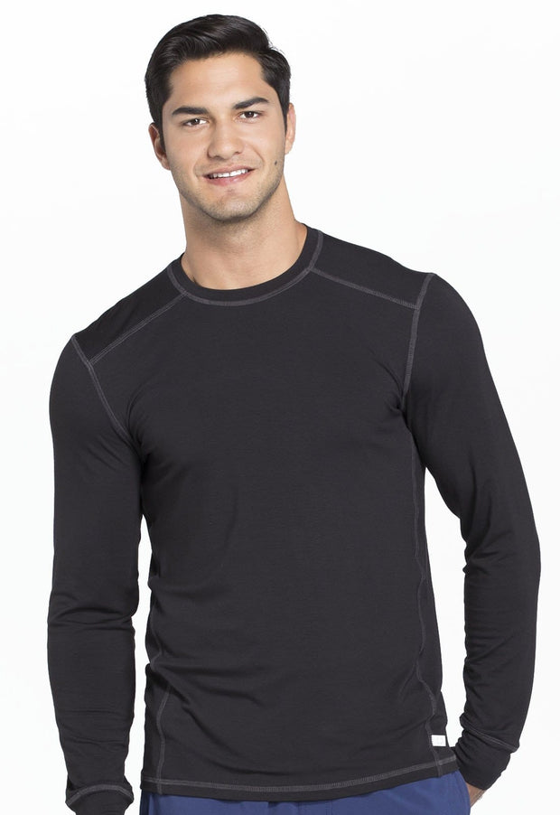 CK650A Men's Long Sleeve Underscrub Knit Top