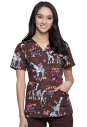 Cherokee Genuine Women's V-Neck Top - CK651