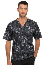 Cherokee Genuine Men's V-Neck Top - CK675