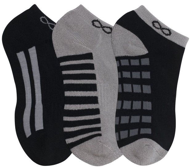Cherokee Infinity Men's 1-3pr pack of No Show Socks - DASH - ScrubHaven