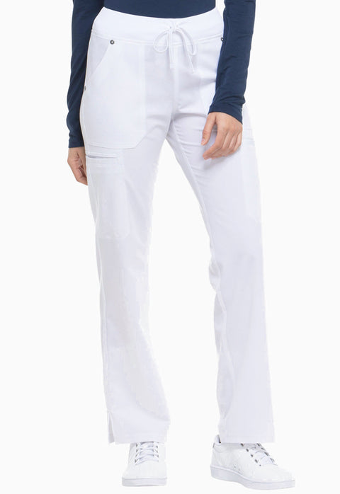 Dickies Xtreme Stretch Women's Mid Rise Rib Knit Waistband Pant - DK020