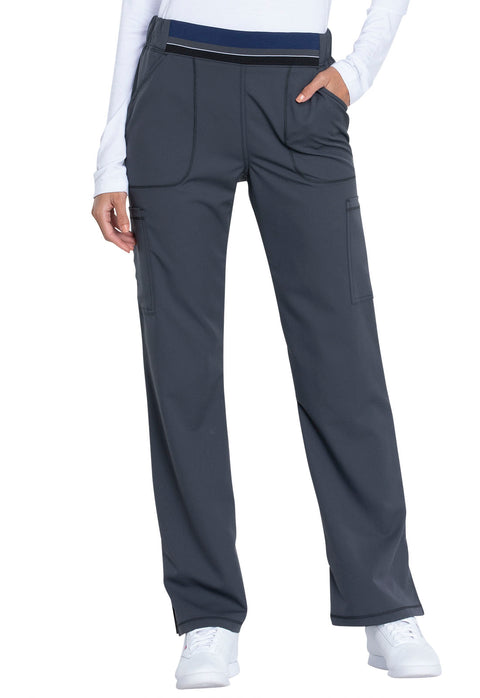 Dickies Dynamix Women's Mid Rise Moderate Flare Leg Pull-on Pant - DK115