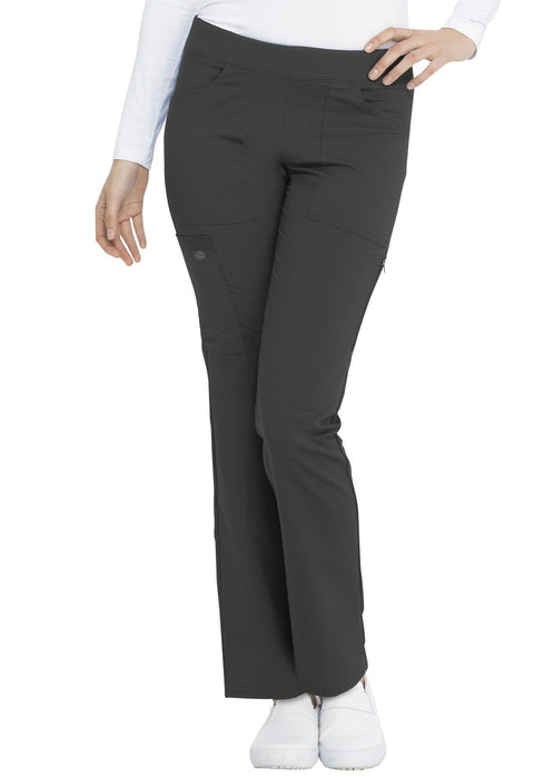 Dickies Balance Women's Mid Rise Straight Leg Pull-on Pant - DK135P  Petite - ScrubHaven