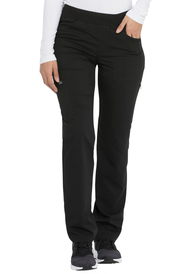 Dickies Balance Women's Mid Rise Straight Leg Pull-on Pant - DK135