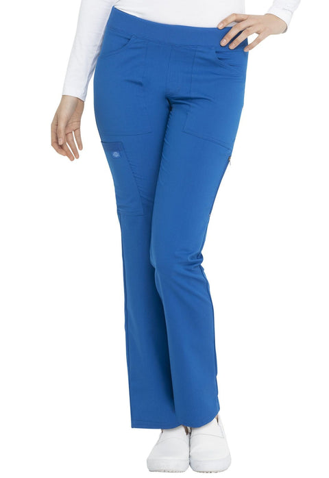 Dickies Balance Women's Mid Rise Straight Leg Pull-on Pant - DK135 - ScrubHaven