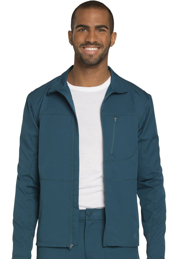DK310<br> Men's Zip Front Warm-up Jacket