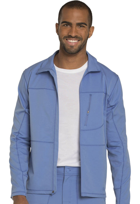 Dickies Dynamix Men's Men's Men's Zip Front Warm-up Jacket - DK310 - ScrubHaven