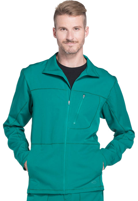 Dickies Dynamix Men's Zip Front Warm-up Jacket - DK310