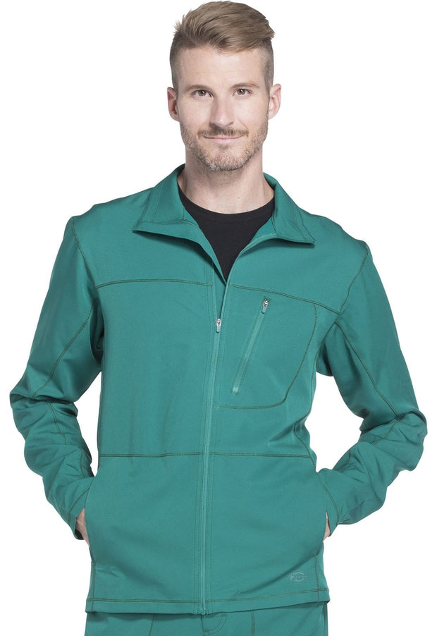 DK310 Men's Zip Front Warm-up Jacket