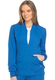 Dickies Dynamix Women's Zip Front Warm-up Jacket - DK330
