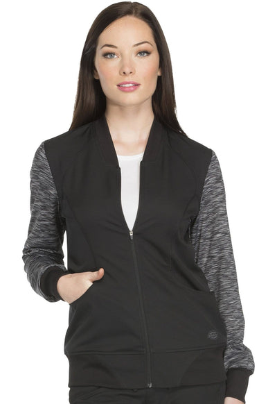DK340 Zip Front Warm-up Jacket