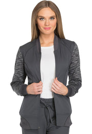 Dickies Dynamix Women's Zip Front Warm-up Jacket - DK340