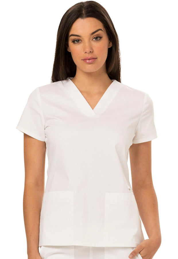 Dickies Gen Flex (Contrast) Women's V-Neck Top - DK800