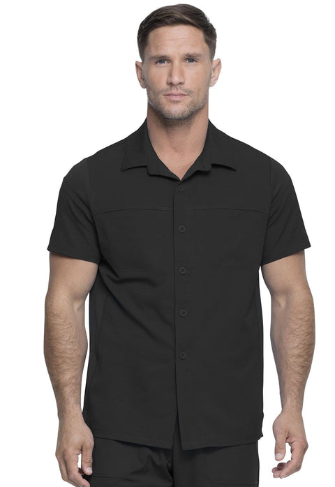 Dickies Dynamix Men's Men's Men's Button Front Collar Shirt - DK820 - ScrubHaven