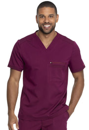 Dickies Balance Men's Men's Men's V-Neck Top - DK865 - ScrubHaven