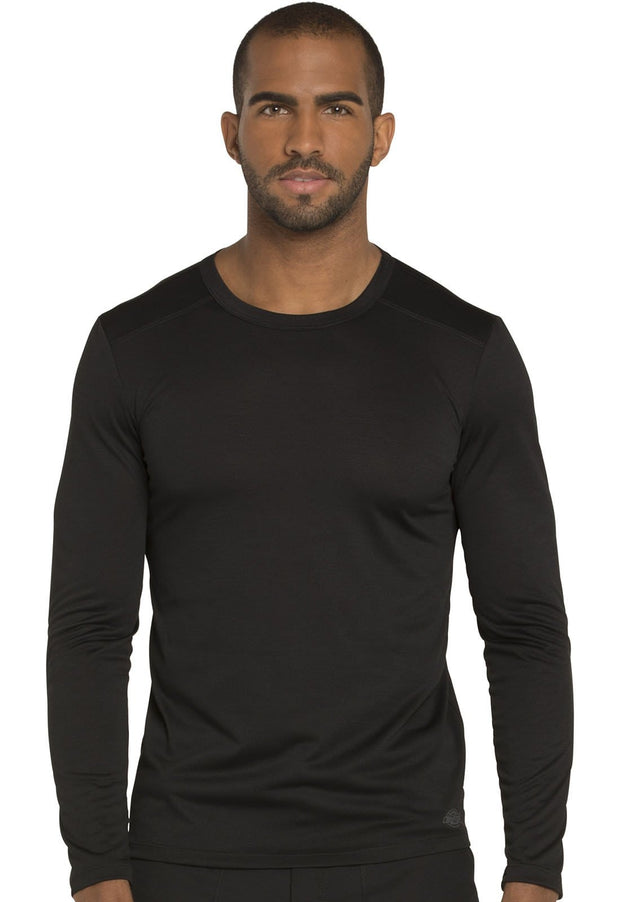 Dickies Dynamix Men's Men's Men's Long Sleeve Underscrub Knit Top - DK910 - ScrubHaven