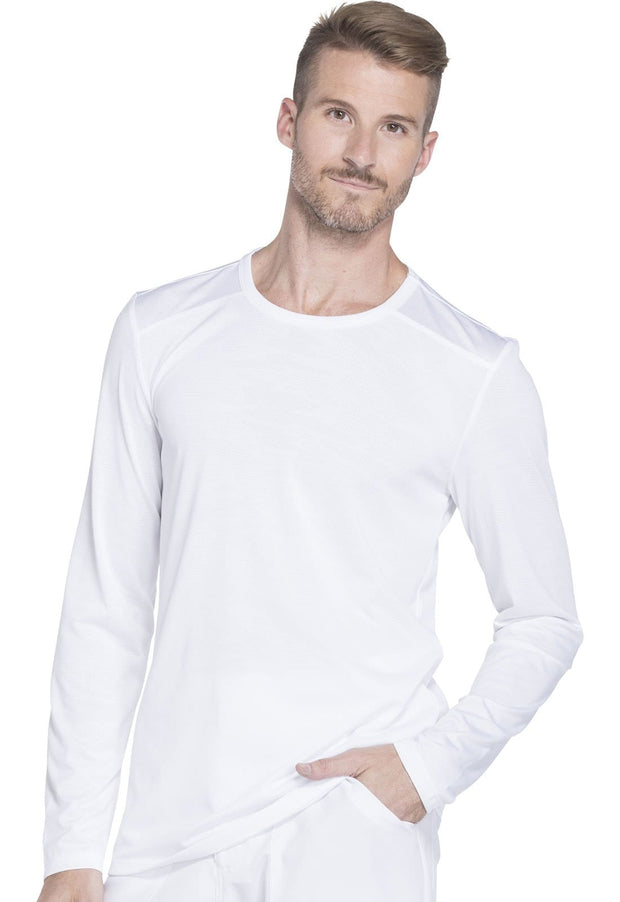 DK910<br> Men's Long Sleeve Underscrub Knit Top