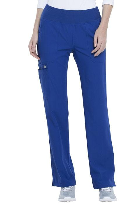 EL130P Mid Rise Straight Leg Pull-on Pant - ScrubHaven