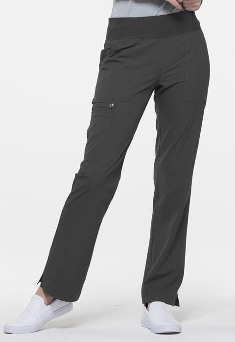 Mid Rise Straight Leg Pull-on Pant