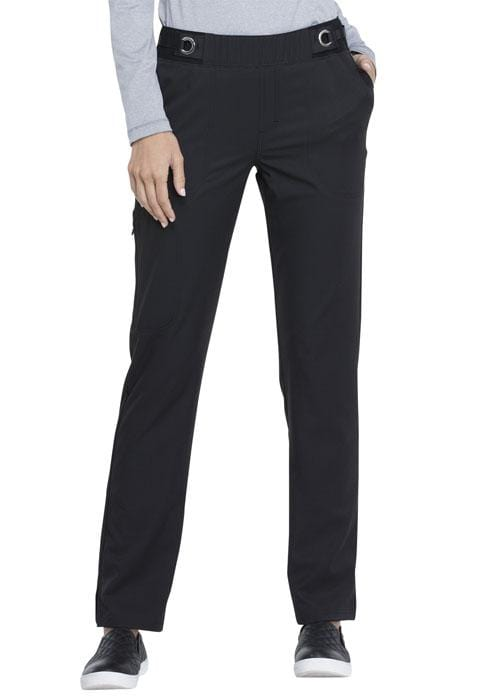 EL145<br> Mid Rise Tapered Leg Pull-on Pant