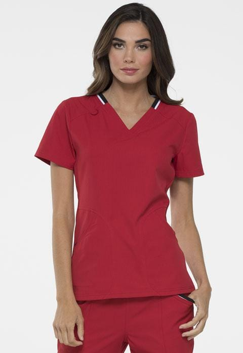 EL650 V-Neck Top - ScrubHaven