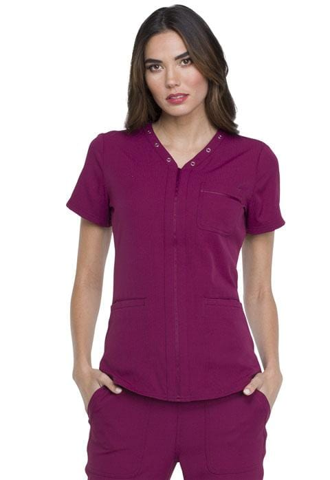 EL690 V-Neck Top - ScrubHaven