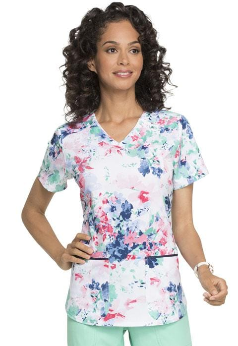 EL715 V-Neck Top - ScrubHaven