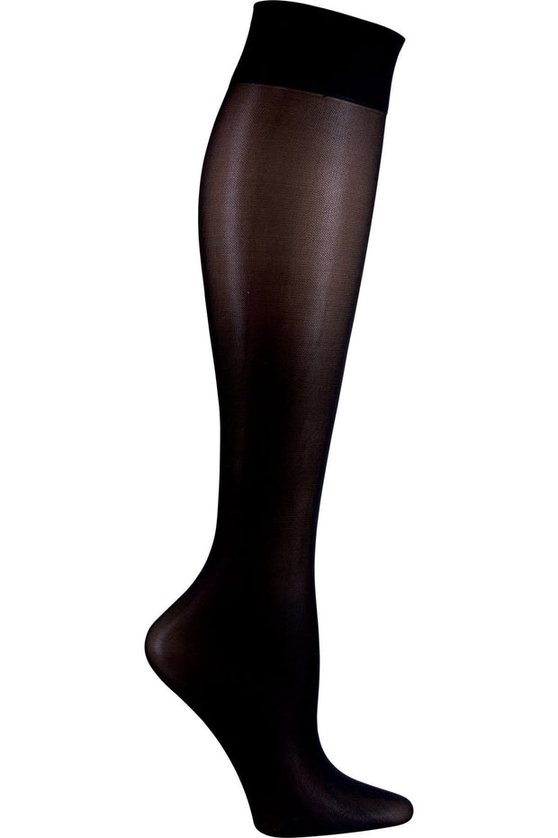 Cherokee   Women's Knee High 12 mmHg Compression Sock - FASHIONSUPPORT - ScrubHaven