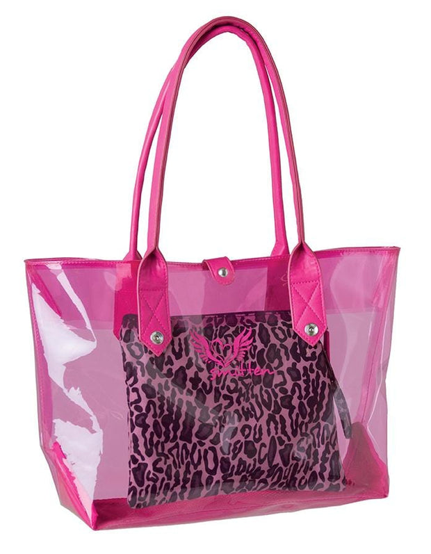 GETLOUD<br> SMITTEN 3 IN 1 CLEAR PVC TOTE