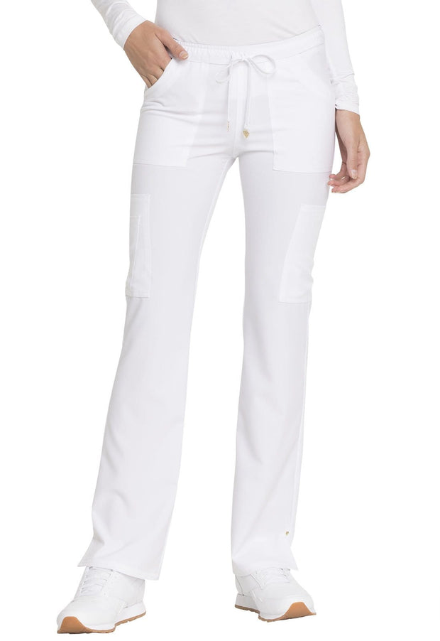Heartsoul Love Always Women's Low Rise Drawstring Pant - HS025P  Petite - ScrubHaven