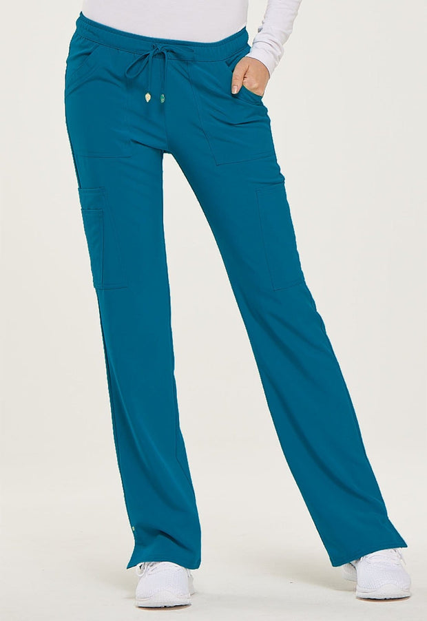 Heartsoul Love Always Women's Low Rise Drawstring Pant - HS025T  Tall - ScrubHaven