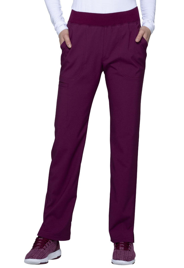 Heartsoul Love Always Women's Mid Rise Tapered Leg Pant - HS075P  Petite - ScrubHaven