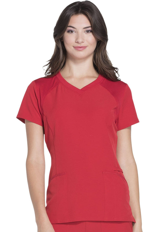 Heartsoul Break On Through Women's V-Neck Top - HS660 - ScrubHaven