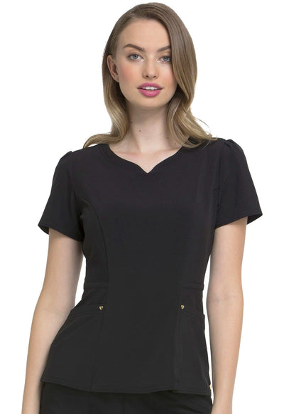 HS670<br> Lovely V-Neck Top