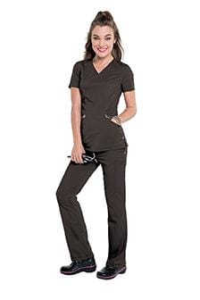 S107003 IDOL V-NECK  WOMENS TUNIC - ScrubHaven