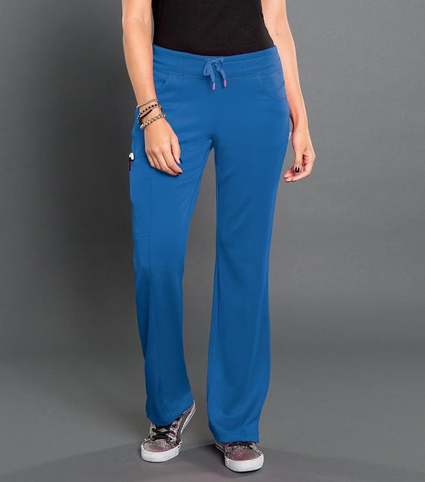 S201022 ELECTRIC -WOMENS SMITTEN PONTE PANEL FRONT PANT