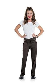 S207002<br> WOMENS STRAIGHT LEG PANT WITH ELASTIC