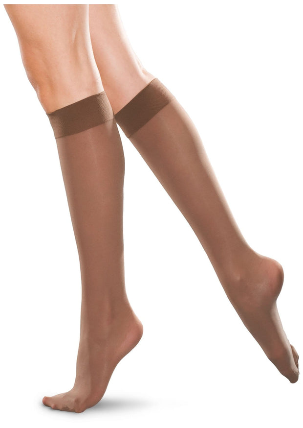 Therafirm Therafirm Unisex 20-30 mmHg Knee High Closed Toe - TF172 - ScrubHaven