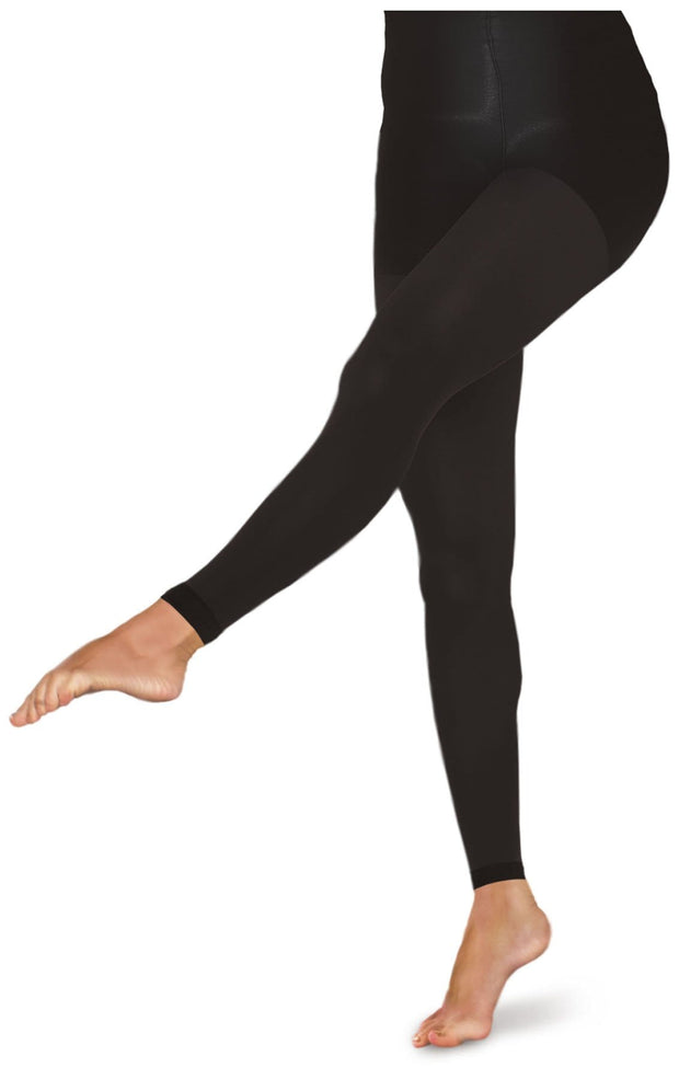 TF371<br> 10-15 mmHg Footless Opaque Tights