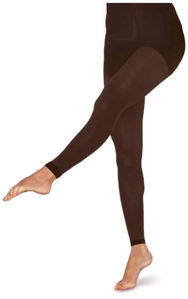 10-15 mmHg Footless Opaque Tights