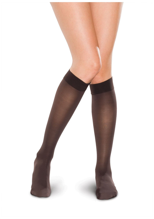 Therafirm Therafirm Women's 15-20 mmHg Knee High Sheer - TF681 - ScrubHaven